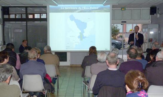 Réunion publique à Gattières le 23/03/2017