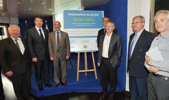 MM Pierre Laffitte, Christian Estrosi, Eric Ciotti, Antoine Sciandra, Gérard Giraudon, Olivier Bernard,