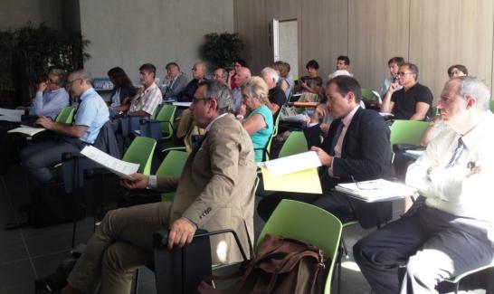 La quatrième séance du comité permanent de concertation du 10 juillet 2014